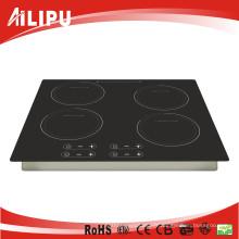 Cuisinière à induction à quatre brûleurs intégrée, modèle Sm-Fic01