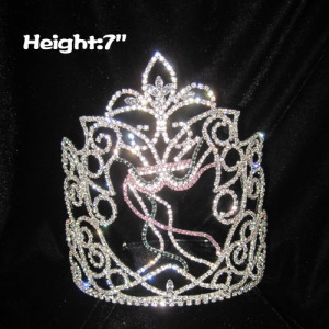 Wholesale Custom Crystal Mardi Gras Pageant Crowns