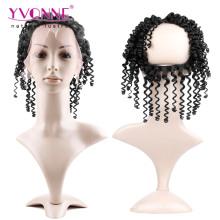 360 virgem brasileira Kinky Curly Lace Frontal