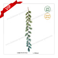 5′-7′ Party Supplies Mixed Pines Decorative Plastic Christmas Wreath Garland
