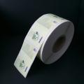 Flexo Printing Environmental Adhesive Sticker for Wet Tissue