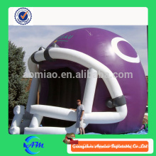 New nflatable Tunnel Tent Inflatable Helmet Type Inflatable Football Tunnel for sale