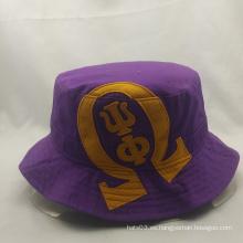 Color de amor sombreros de pesca personalizada con bordado, sombreros de cubo con gran precio