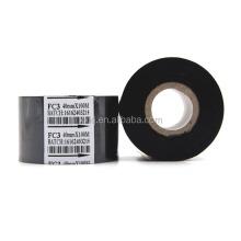 FC3 Hot Stamping Foil Rolls OEM Size 40mm*100m Black Color Hot Stamping Coding Foil