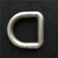Forged Container Lashing D Ring With Bracket