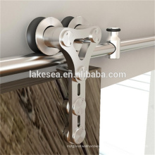 China Alibaba Stainless Steel Barn Sliding Door Hardware With Soft Close Damper For Door Fittings