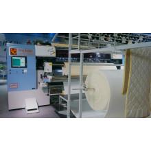 Machine piquante à grande vitesse de Yuxing pour le panneau de matelas, machine piquante de multi-aiguille pour la couverture de protection de matelas