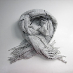 New Arrival Fashion Wrinkle Woven Scarf