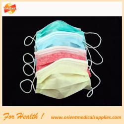 2-ply disposable non woven face mask blue