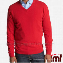 2014 the most popular mens cashmere V neck sweater
