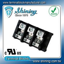 TGP-050-03JSC Conector de bloque de terminales UL de 3 hilos de 50 amperios de 3 posiciones