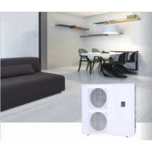 Monobloc inverter system heat pump for floor heating