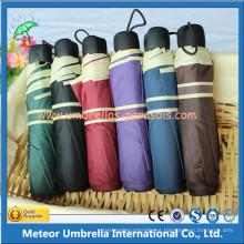 Manual de la promoción 3 paraguas plegable de la lluvia
