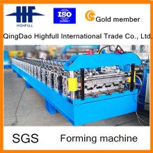 Heißer Verkauf gewölbte Stahlblech Rollenformmaschine