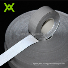 Polyester TC Customized 3M Reflective Fabric Tape 5MM Sew On For Clothing