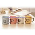 Sunboat Kitchenware/ Kitchen Appliance Retro Cartoon Ceramic Handgrip Mug Tea Coffee Milk Water Enamel Cup