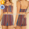 Lace Up Cami Top & Shorts Manufacture Wholesale Fashion Women Apparel (TA4005SS)