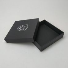 Custom coaster black gift box packaging for coasters