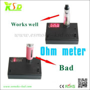 2014 competive price ohm meter for vaporizer | ecig ohm meter
