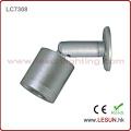 Long Lifespan Silver/Black 1W LED Under Cabinet Spot Light LC7308