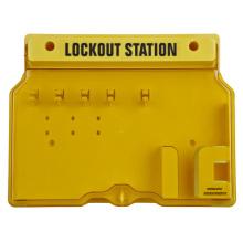 Centro de la estación de bloqueo de seguridad
