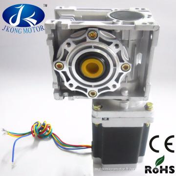 Réducteur de ver de moteur d'engrenage à vis sans fin de 12V dc avec le moteur pas à pas