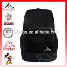 Nuevo diseño BSCI Factory Sports Ball Sack mochila mochila de fútbol