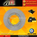 OE 55311A60B11 disco de freio do rotor de freio para auto peças de automóveis do sistema de freio do fornecedor de fatos