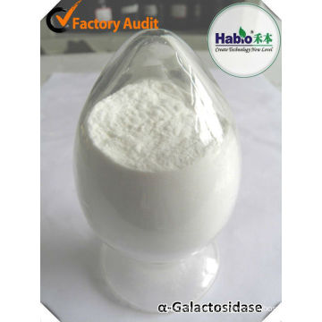 Ruminant Enzyme alpha-Galactosidase as healthy agent