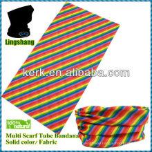 LSB65 Ningbo Lingshang 100% polyester size 24*48cm neck tube Tubular Bandana