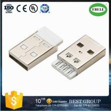Conector Mini USB Conector reverso USB Conector de camada dupla USB