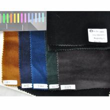 liquidación de inserciones de tela de terciopelo de algodón