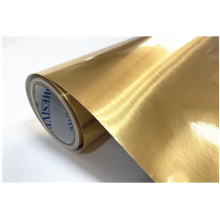 High Quality Brush Gold Metallized PET Film