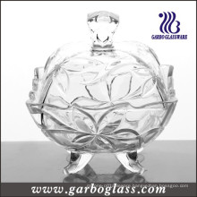 Clear Glass Candy Jar (GB1831SYC)