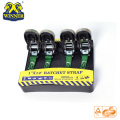 4PC 1 Inch Package Camouflage Ratchet Tie Down Strap