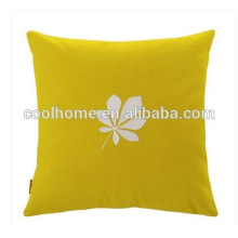 100% Cotton Backrest Cushion Sofa Cushion with Pure Office Pillowcase