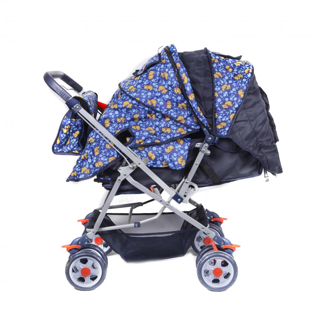 Whole Canopy Luxury Baby Stroller