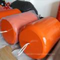 XINCHENG Brand Factory professionnel de fabrication marine Fender en caoutchouc rempli de mousse de polyuréthane utilisé pour les navires et les quais