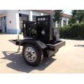 3 Wheel Trailor Generator 20KW Diesel 4B3.9G Engine and 13 KW Power Pump