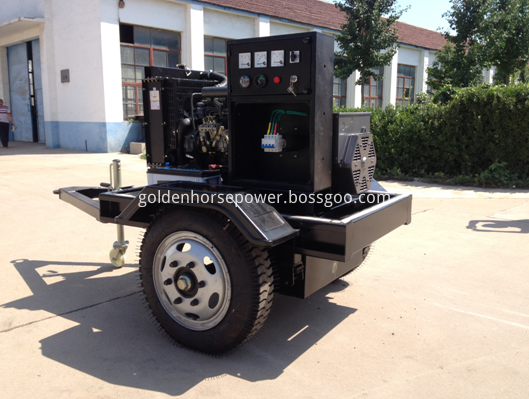 3 wheel mobile water pump