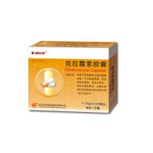 Кларитромицин Капсулы макролидные антибиотики антибактериальные
