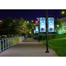Écran LED d'écran P6 Street Lamp