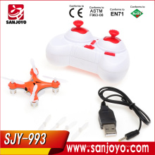 3D rc RC Quadcopter 2.4g 4ch 6 Axis LED Quadcopter drone HJ993