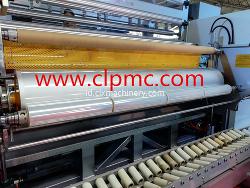 wrapping film stretch machine