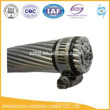 Câble CA de conducteur nu renforcé par acier de conducteur en aluminium de conducteur d'ACSR GOST 839-80