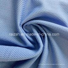 Poliéster de urdimbre tejido de tela Sportwear Air Mesh para la ropa deportiva