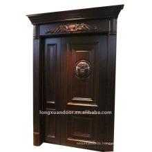 Composite solid wood door & plywood door