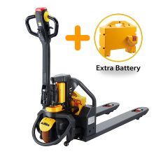 Xilin Hot Sale 1500kg 1.5 ton Electric Pallet Truck With Extra Battery