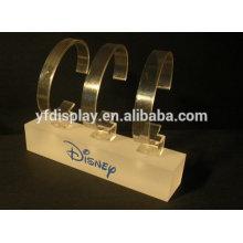 acrylic wrist pocket watch display stand set of 3
