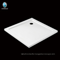 Economical square shape acrylic Corner Shower tray